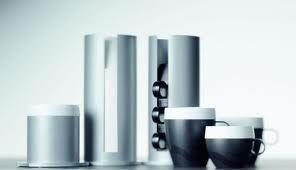 Zásobník na stůl PRESTIGO stříbrný – vysoký - 1