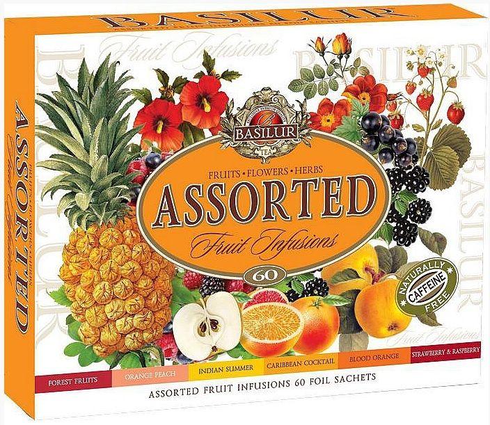 Basilur - sada 60s ovocných čajů - 1