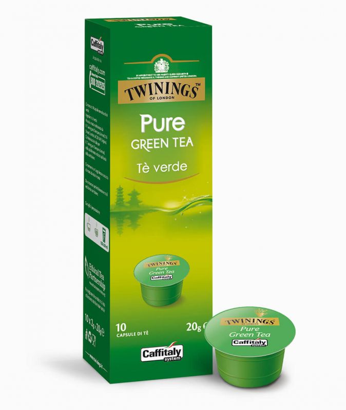 Čaj Twinings Pure Green - kapsle - 1