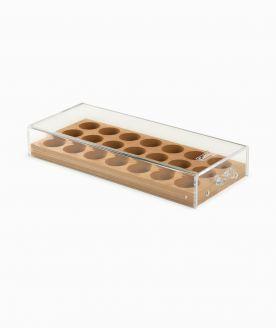 Caffitaly dřevěný box na kapsle - 3