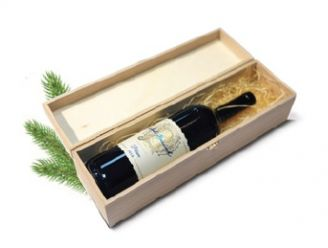 Dárkové víno v dřevěné krabici - 1