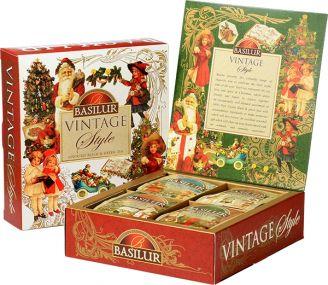 Vánoční čaj BASILUR Vintage - 1