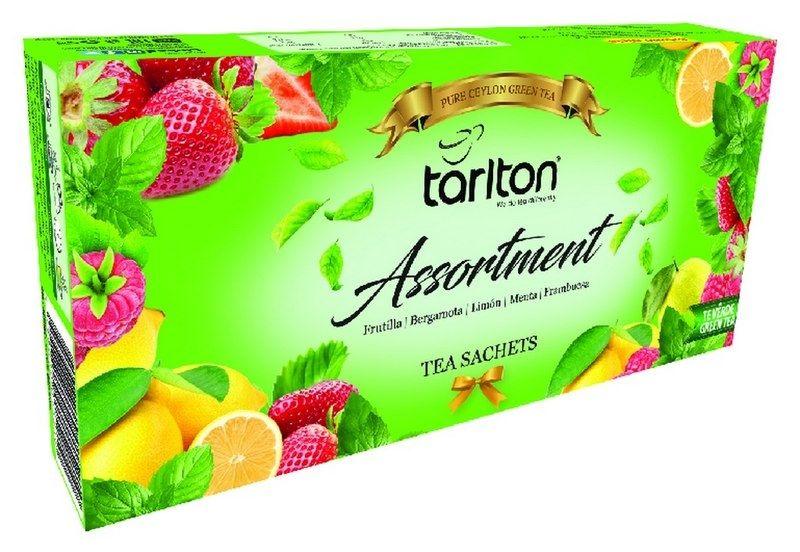 Box zelených čajů TARLTON - 1