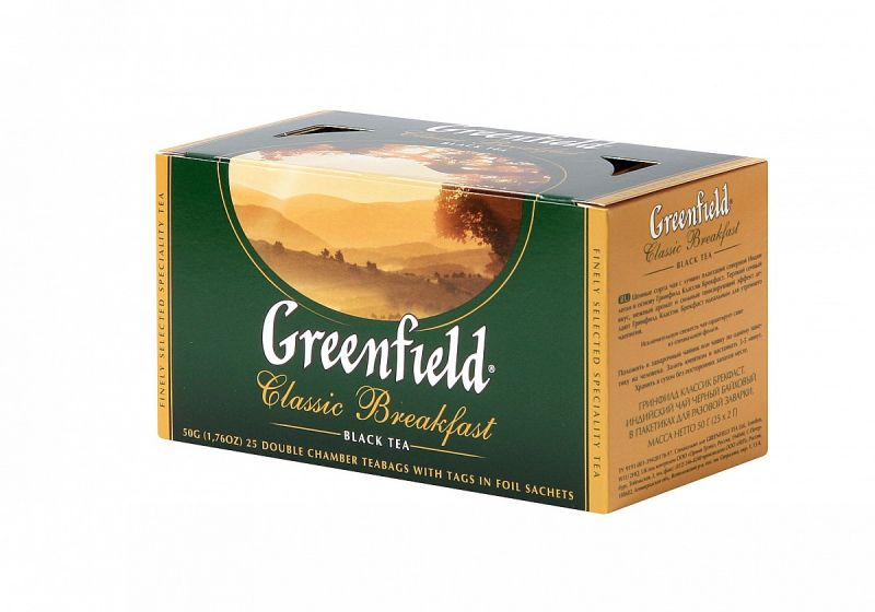 Černý čaj CLASSIC BREAKFAST - Greenfield - 1