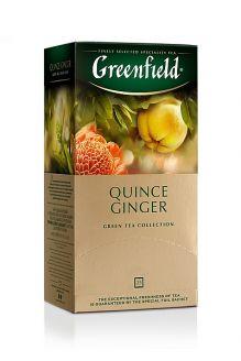 Zelený čaj  QUINCE GINGER - Greenfield - 1