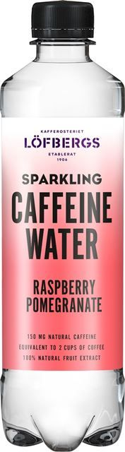 CAFFEINE WATER - Raspberry/Pomegranate 500ml - 1