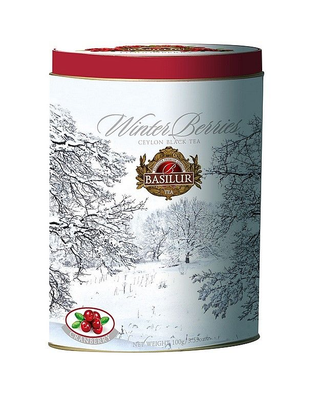 Sypaný čaj Basilur - Winter Berries 100g - 1