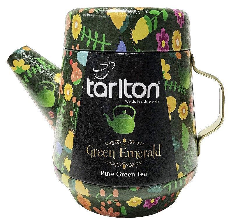 Zelený čaj Tarlton TEA POT 100g - 1