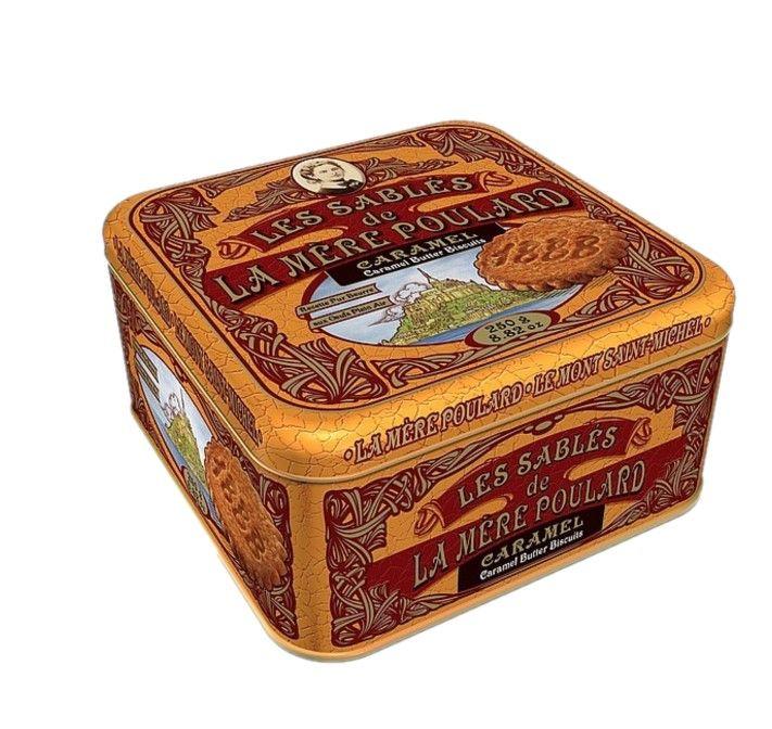 Francouzské sušenky LA MÉRE POULARD - Karamel 250g - 1