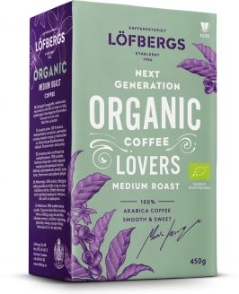 Mletá káva Löfbergs ORGANIC 450g - 1