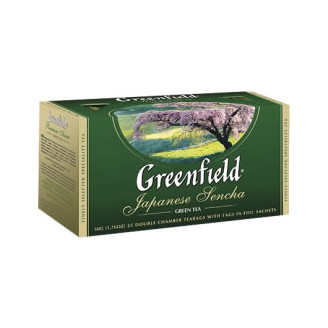 Zelený čaj JAPANESE SENCHA - Greenfield