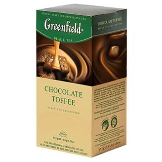 Černý čaj CHOCOLATE TOFFEE - Greenfield