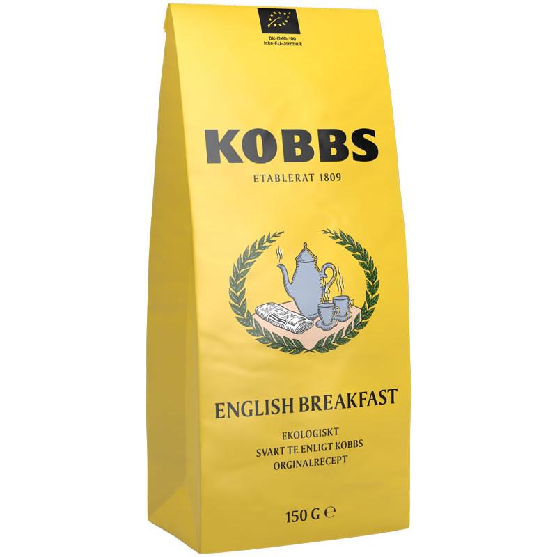 KOBBS Čaj ENGLISH BREAKFAST  125g