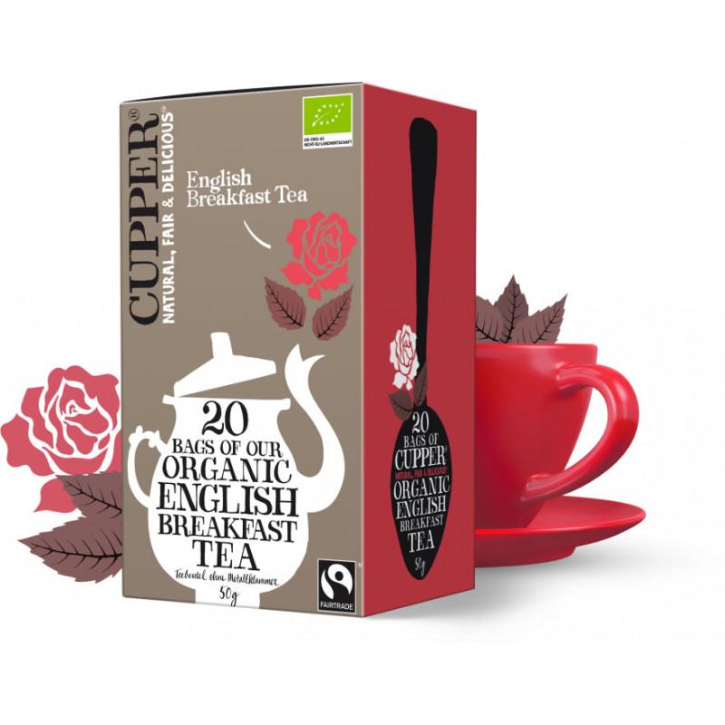 Čaj Černý Breakfast - BIO - Cupper