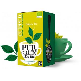 Čaj Zelený čistý - bio - Cupper