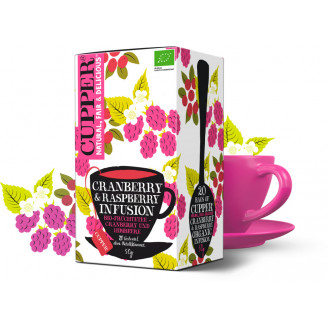 Čaj Brusinka a malina - bio - Cupper