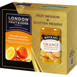 Dárková sada London + Mackays Pomeranč
