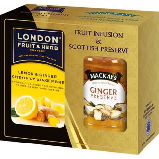 Dárková sada London + Mackays Citron a Zázvor