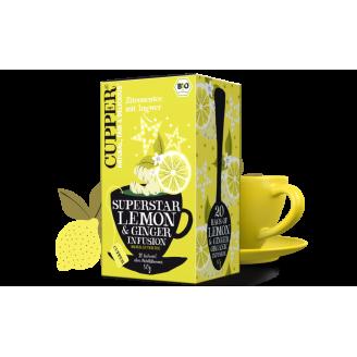 Čaj Citron a Zázvor / bio -...