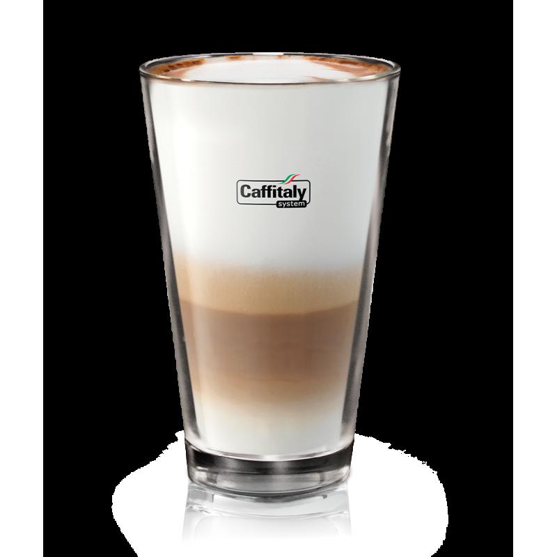 Caffitaly sklenice latte